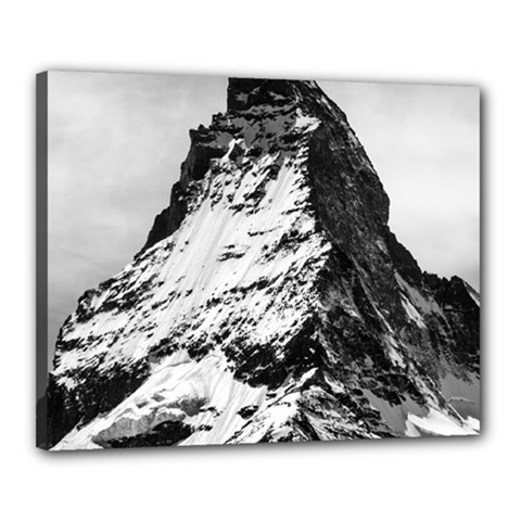 Matterhorn Switzerland Mountain Canvas 20  X 16