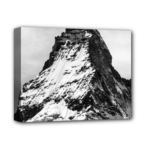 Matterhorn Switzerland Mountain Deluxe Canvas 14  X 11  by Nexatart