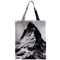 Matterhorn Switzerland Mountain Zipper Classic Tote Bag