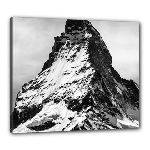 Matterhorn Switzerland Mountain Canvas 24  X 20  by Nexatart