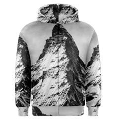 Matterhorn Switzerland Mountain Men s Zipper Hoodie