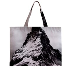 Matterhorn Switzerland Mountain Zipper Mini Tote Bag by Nexatart