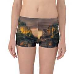 Mont St Michel Sunset Island Church Boyleg Bikini Bottoms