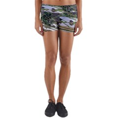 Rice Terrace Rice Fields Yoga Shorts
