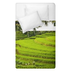Rice Terrace Terraces Duvet Cover Double Side (single Size) by Nexatart