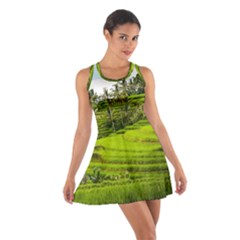 Rice Terrace Terraces Cotton Racerback Dress