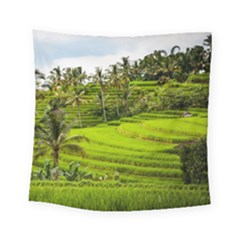 Rice Terrace Terraces Square Tapestry (small)