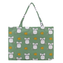Cute Mouse Pattern Medium Tote Bag by Valentinaart
