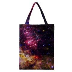 Space Colors Classic Tote Bag by ValentinaDesign