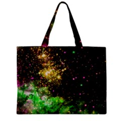 Space Colors Zipper Mini Tote Bag