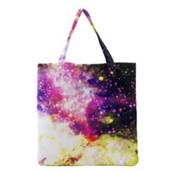 Space Colors Grocery Tote Bag by ValentinaDesign