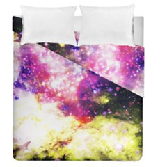 Space Colors Duvet Cover Double Side (queen Size) by ValentinaDesign
