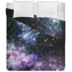 Space Colors Duvet Cover Double Side (california King Size) by ValentinaDesign