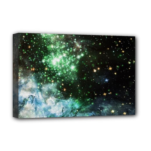 Space Colors Deluxe Canvas 18  X 12   by ValentinaDesign