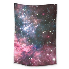 Space Colors Large Tapestry by ValentinaDesign