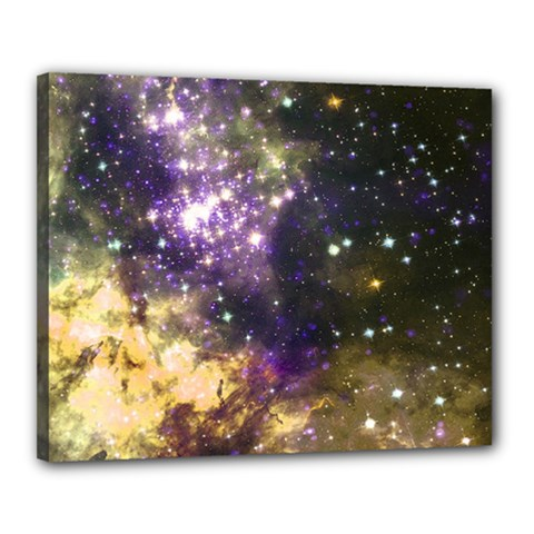Space Colors Canvas 20  X 16  by ValentinaDesign