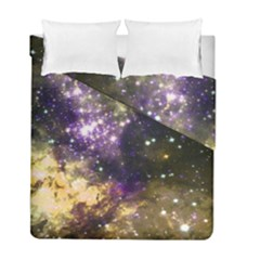 Space Colors Duvet Cover Double Side (full/ Double Size) by ValentinaDesign