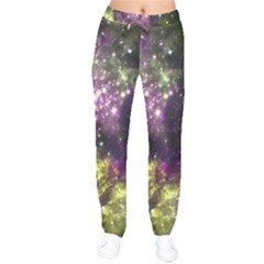 Space Colors Drawstring Pants by ValentinaDesign