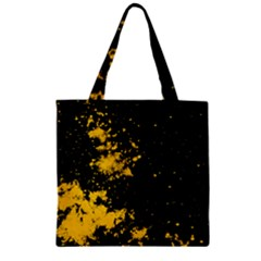 Space Colors Zipper Grocery Tote Bag by ValentinaDesign