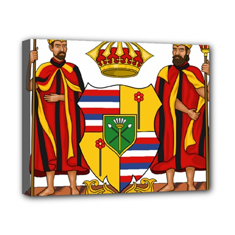 Kingdom Of Hawaii Coat Of Arms, 1795 1850 Canvas 10  X 8  by abbeyz71
