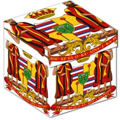 Kingdom Of Hawaii Coat Of Arms, 1795 1850 Storage Stool 12   by abbeyz71