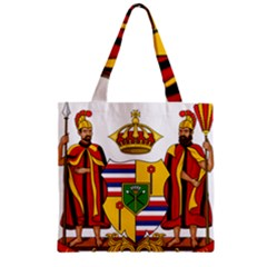 Kingdom Of Hawaii Coat Of Arms, 1795 1850 Zipper Grocery Tote Bag by abbeyz71