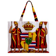 Kingdom Of Hawaii Coat Of Arms, 1795 1850 Zipper Mini Tote Bag by abbeyz71