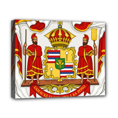 Kingdom Of Hawaii Coat Of Arms, 1850 1893 Canvas 10  X 8  by abbeyz71