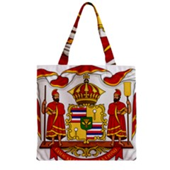 Kingdom Of Hawaii Coat Of Arms, 1850 1893 Zipper Grocery Tote Bag by abbeyz71