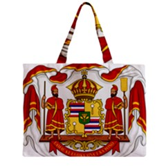 Kingdom Of Hawaii Coat Of Arms, 1850 1893 Zipper Mini Tote Bag by abbeyz71
