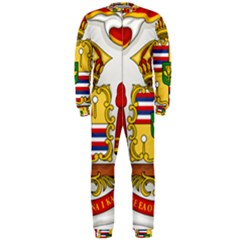 Kingdom Of Hawaii Coat Of Arms, 1850 1893 Onepiece Jumpsuit (men)  by abbeyz71