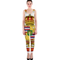 Kingdom Of Hawaii Coat Of Arms, 1850 1893 Onepiece Catsuit by abbeyz71
