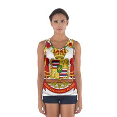 Kingdom Of Hawaii Coat Of Arms, 1850 1893 Sport Tank Top  by abbeyz71