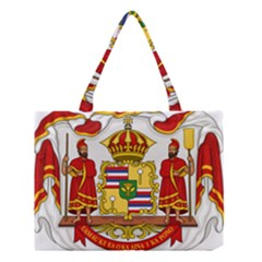 Kingdom Of Hawaii Coat Of Arms, 1850 1893 Medium Tote Bag by abbeyz71