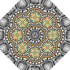 High Contrast Mandala Folding Umbrellas by linceazul