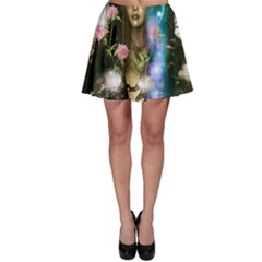 The Wonderful Women Of Earth Skater Skirt by FantasyWorld7