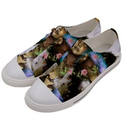 The Wonderful Women Of Earth Men s Low Top Canvas Sneakers by FantasyWorld7