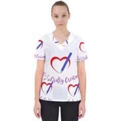 Chy s Crafty Creations 1503679013450 Scrub Top