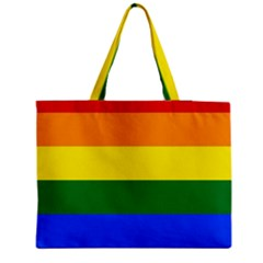 Pride Flag Medium Tote Bag by Valentinaart