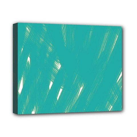 Background Green Abstract Canvas 10  X 8