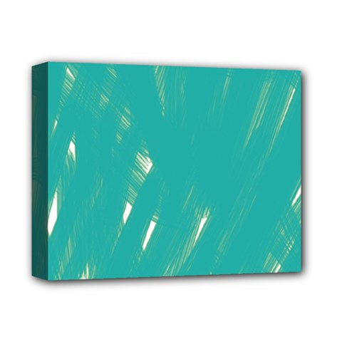 Background Green Abstract Deluxe Canvas 14  X 11