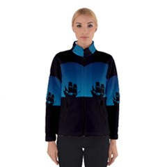 Ship Night Sailing Water Sea Sky Winterwear