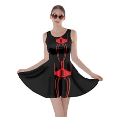 Ship Space Spaceship Skater Dress
