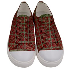 Sanquhar Old Knit Women s Low Top Canvas Sneakers
