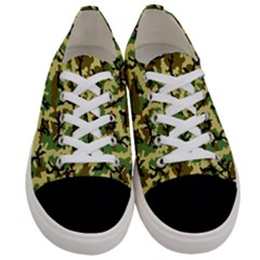 Camo Woodland Women s Low Top Canvas Sneakers