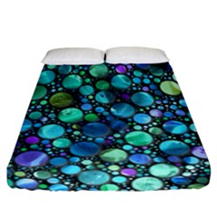 Lovely Shapes 2c Fitted Sheet (california King Size) by MoreColorsinLife