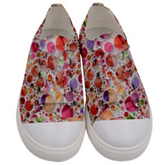 Lovely Shapes 2a Women s Low Top Canvas Sneakers