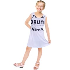 I m Not Drunk I Have Ms Multiple Sclerosis Awareness Kids  Tunic Dress
