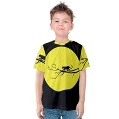 Jaguar Puma Animal Panther Cat Kids  Cotton Tee