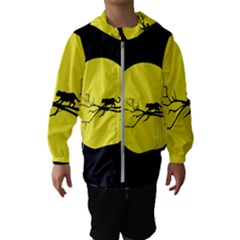 Jaguar Puma Animal Panther Cat Hooded Wind Breaker (kids)